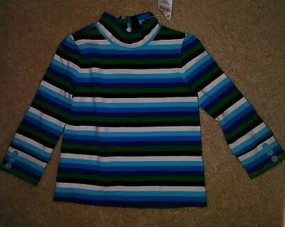 Baby Gap Toddler Girl 18-24 Mos Long Sleeve Striped Pullover Shirt Sweater Top