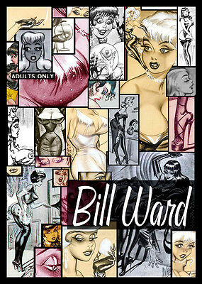 Image Disque Art Référence Bill Ward Art Over 2,500 Images Cd-Rom Pin Up Bd