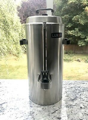 Fetco® Luxus® 3 Gallon Hot/Cold Commercial Beverage Dispenser Stainless Steel