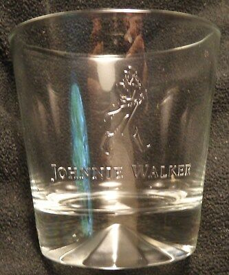 Johnnie Walker Scotch - Heavy Based Rocks - Drink Glass...10 Ounce - Type 4