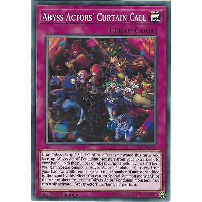 Yu-Gi-Oh Abyss Actors' Curtain Call - LED3-EN049 - Common - 1st Edition