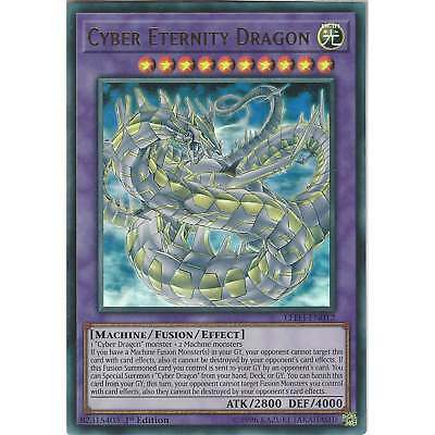 Yu-Gi-Oh TCG: Cyber Eternity Dragon - LED3-EN012 - Ultra Rare Card - 1st Edition