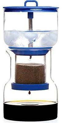Bruer Cold Drip Coffee Maker -Glass/Silicon with Filter Papers 1L