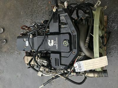 2010-2013 Dodge Ram 2500 3500 6.7L Cummins diesel engine as43683