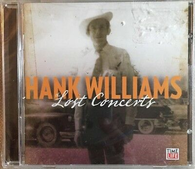 Hank Williams: Lost Concerts CD - New Sealed- Time Life