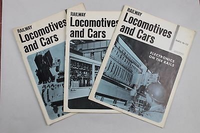 3 Railway Locomotives and Cars Electronics On The Rails Parts 1-22 Books Trains