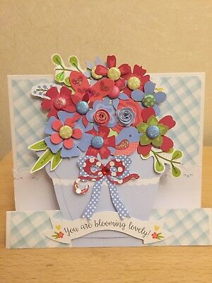 Handmade Personalised Birthday Card Roses Flowers Special Friend 2