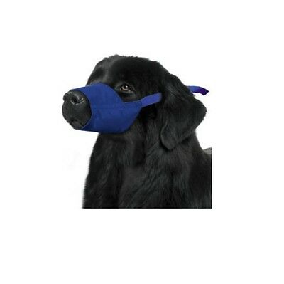 Quick Muzzle for Dogs - XXXLarge Blue Safety Adjustable straps quick release
