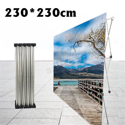 Aluminum Flower Wall Fold Stand Frame Wedding Backdrop Banner Show Party Decor