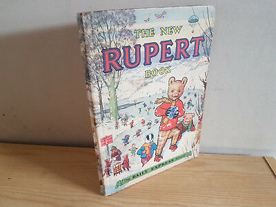 RUPERT ANNUAL 1951 original book  - VG