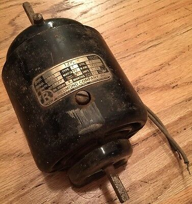 Redmond Company Electric Motor 4221 115V 60CYC 1525 RPM 1/40 HP 1AMP USA Made