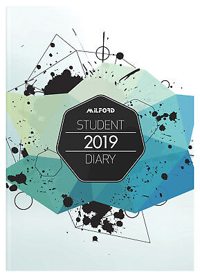 Diary 2019 Milford Students A5 Week to View 441414 inc. Postage
