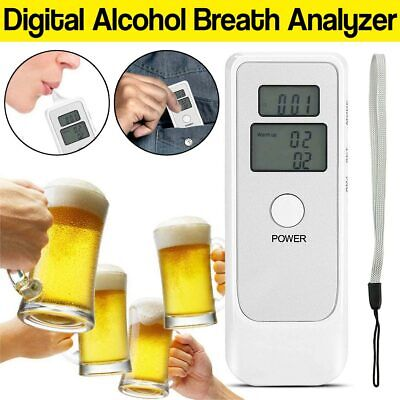 New Professional LCD Digital Breath-Alcohol Tester Breathalyser Alcohol Detector