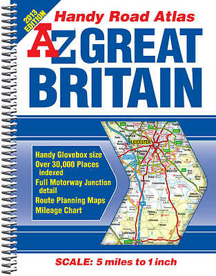Great Britain Handy Road Atlas (A-Z Road Atlas), Geographers' A-Z Map Company, V