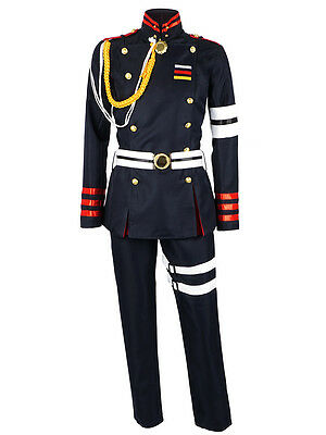 Seraph of the End Cosplay Uniform von Guren Ichinose Kostüm Karneval Herren