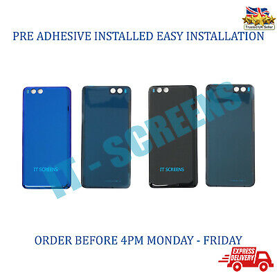 Replacement Xiaomi MI Note 3 Rear Glass Back Battery Door Cover With Adhesive