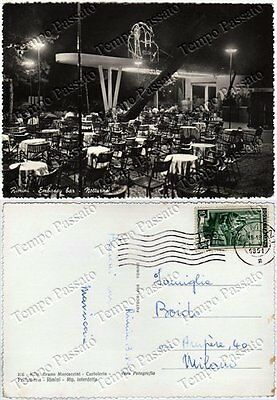 Cartolina di Rimini, Embassy bar - 1951