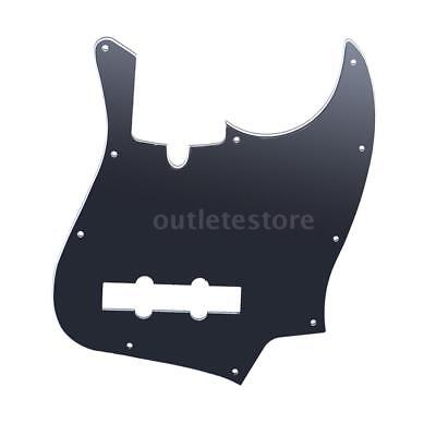 10 Holes Pickguard Scratch Plate for Jazz Bass for TAGIMA JB 3Ply PVC K4N5