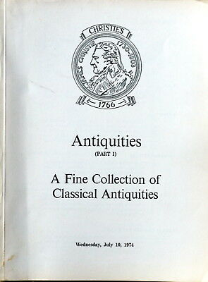 Christies   Classical Antiquities Part I 7/10/74  Hj 1