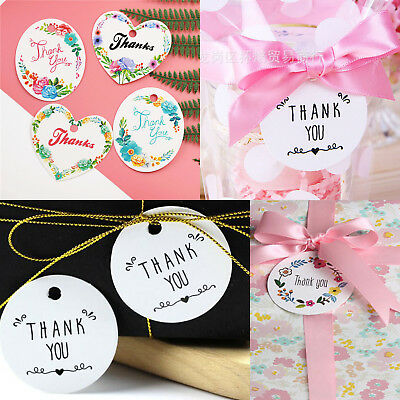 DIY Christmas Paper Decorative Gift Wrap Tags Card Label Idyllic flowers Pattern