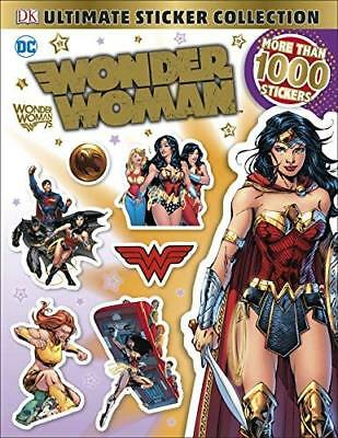 DC Wonder Woman Ultimate Sticker Collection New Paperback / softback Book