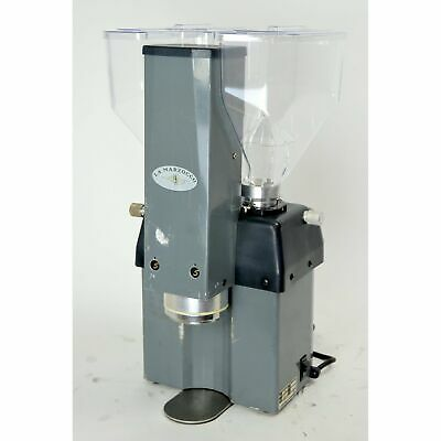 La Marzocco Swift Commercial Espresso Grinder Auto-Tamp Dual Hoppers Grey