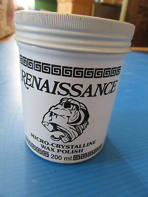 Renaissance Wax 7oz (200ml) Micro Crystalline Wax Polish
