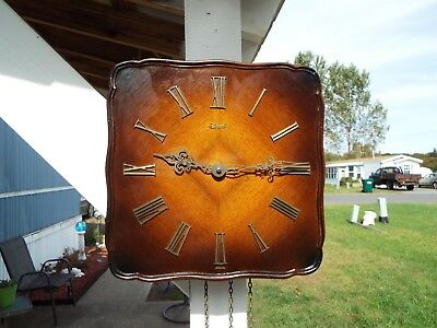 Hermle wall clock germany with weights