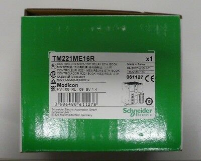 Schneider Modicon Programmable Controller TM221ME16R 8 Input 8 Outputs