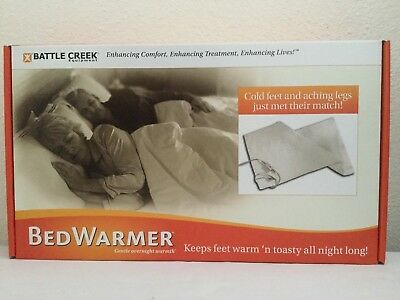 "NIB Battle Creek Thermophore Bed Warmer 18"" x 36"" Model 058"