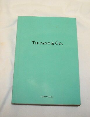 Tiffany & Co.  1980-1981 Catalog Jewelry China Book Reference Designers 216 Pgs.