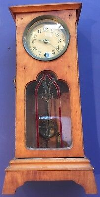 Superieur Unique Antique Tabletop Grandfather Clock Made In Wurttemberg, Germany