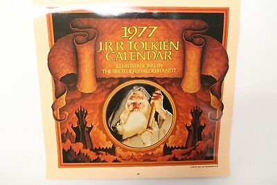 THE 1977 J. R. R. TOLKIEN CALENDAR, Illustrations by The Brothers Hildebrandt