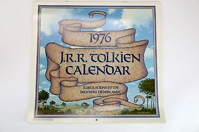 THE 1976 J. R. R. TOLKIEN CALENDAR, Illustrations by The Brothers Hildebrandt