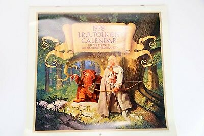 THE 1978 J. R. R. TOLKIEN CALENDAR, Illustrations by The Brothers Hildebrandt