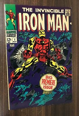 IRON MAN #1 -- May 1968 -- F/VF Or Better -- Lovely Key Issue