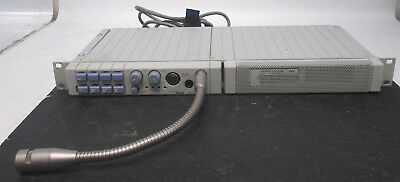 Telex Rts Mce325 4 Channel User Station Mcs325 Speaker Mcp6 Microphone