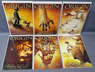 WOLVERINE: THE ORIGIN #1 2 3 4 5 6 (Full Run 1-6) Marvel 2001 Logan Howlett