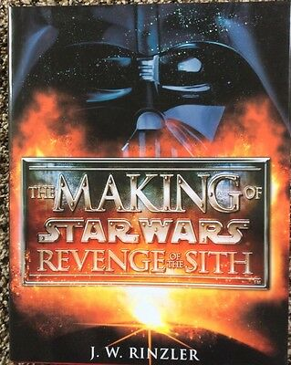 Star Wars The Making of Revenge of the Sith--HC--New!--Signed! OOP