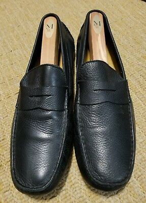 a23e27cbd4d Cole Haan Howland Penny Loafers Black Tumbled Leather. Sz. 12M