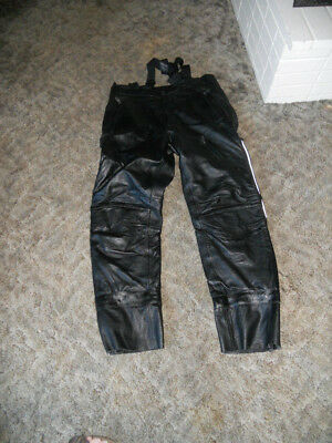 Harley Davidson FXRG Leather Size 38 Pants Very Gently Used FREE SHIPPING