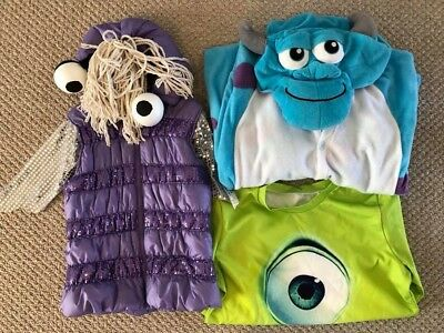 halloween costume monster family boo mike sully