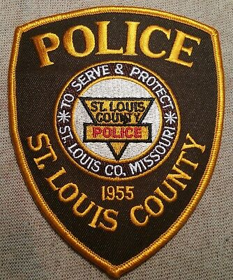 MO St. Louis County Missouri Police Patch
