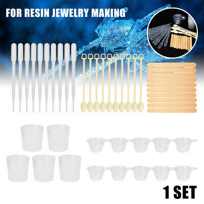 1 Set 25 x Basic Tools For Jewelry Making Resin Mould Casting Handcraft Jewelry