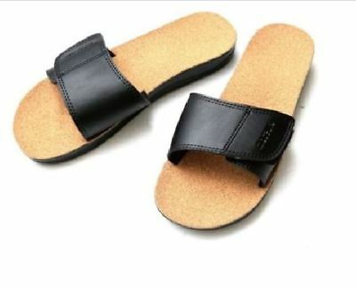 Maseur Gentle Smooth Masage Sandals Black Size 5-11 **NEW**