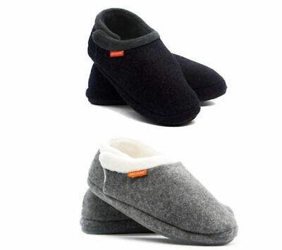 ARCHLINE Orthotic Closed Black & Grey Slippers Men & Women Size 5-13 US **NEW**