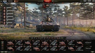World Of Tanks TOP Account [2700WN8] [132-Panzer] [47x10X] +E-Mail +WoWs