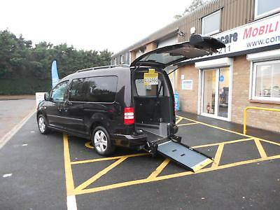Volkswagen Caddy Maxi 1.6TDI Maxi Life WHEELCHAIR ACCESS WAV ALLIED MOBILITY