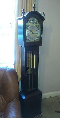 A Fine German Westminster chimes Longcase Clock