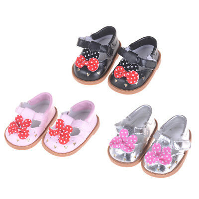 "BowTie Shoes for fit 18"" doll 43cm Baby Born zapf Shoes Acc TYUK"